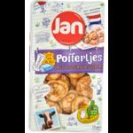 Jan Poffertjes met boter en suiker