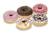 Gedecoreerde donut