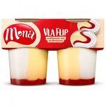 Mona Vlaflip vanille-aardbei