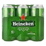 Heineken 6-pack (500 ml)