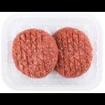 Hamburgers rund van de slager