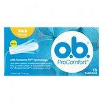O.B. ProComfort normal tampons