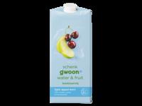Gwoon Water en Fruit Appel/Kers 1.5L