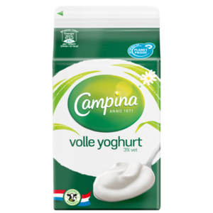 Campina Volle yoghurt (500 ml)