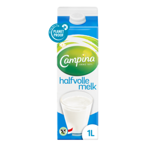 Campina Halfvolle melk (1000 ml)