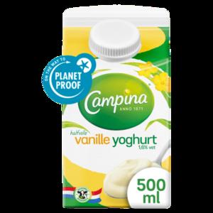 Campina Vanille yoghurt (500 ml)