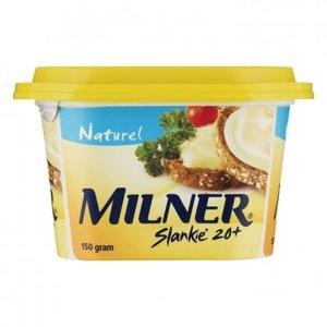 Milner Slankie naturel smeerkaas 20+