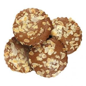 Gevulde koeken speculaas (mini, 4 stuks)