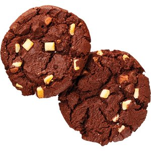 American cookie triple choco