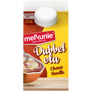 Dubbelvla Chocolade vanille 0.5L