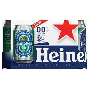 Heineken 0.0 6x 0,33CL