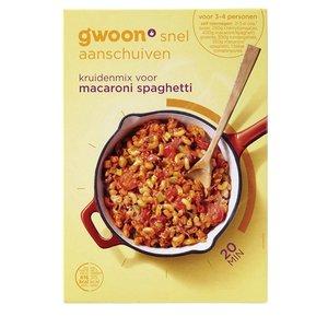 Gwoon Macaroni Spaghetti Kruidenmix